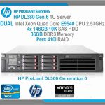 HP ProLiant Server DL380 G6 2U